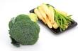 Fresh broccoli and Set vegetables