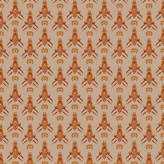 Traditional Javanese Pattern 17