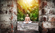 Yoga meditation in India