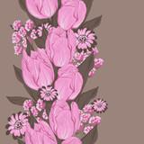 Fototapete Hintergrund - Schön - Blume
