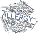 Word cloud for Allergy