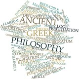 Word cloud for Ancient Greek philosophy