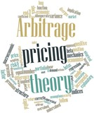 Word cloud for Arbitrage pricing theory