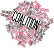 Word cloud for Coalition