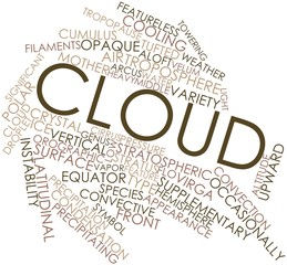 Word cloud for Cloud