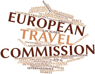 Word cloud for European Travel Commission