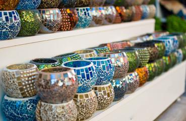 Colorful turkish decoration souvenirs