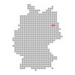 Berlin - Serie: Pixelkarte Bundesländer