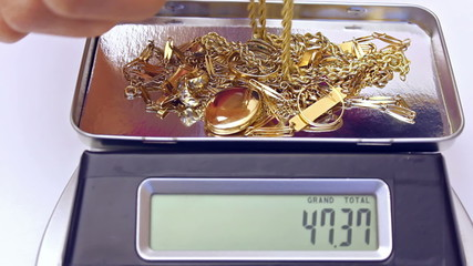 measurement of gold