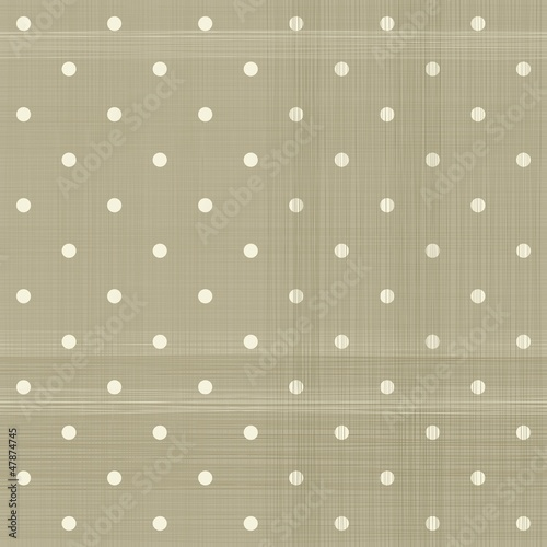 faded brown polka dot seamless textured pattern © ychty