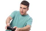 boy videogame player