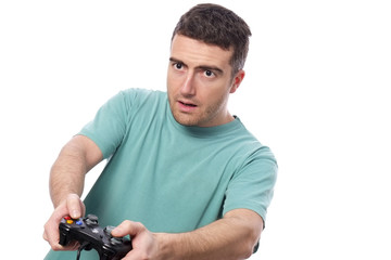 boy videogame player
