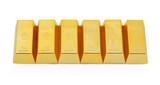 Six gold bars