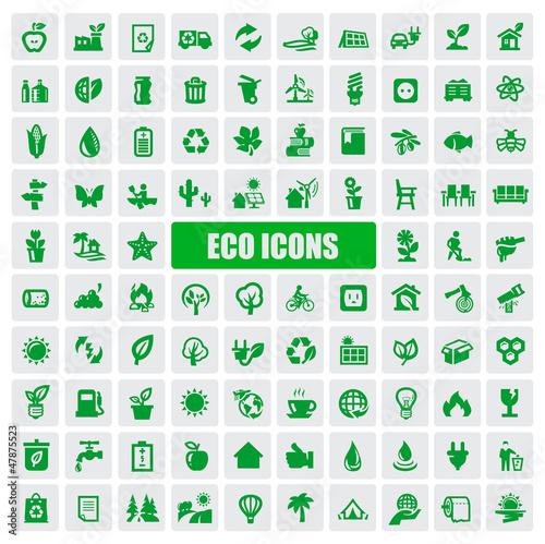 ikony ekologiczne