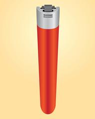 Plastic cigarette lighter
