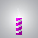 Extinct Purple New Year Candle poster