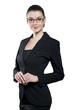 Attractive young biznesswoman