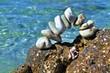 kleiner Torbogen aus Steinen