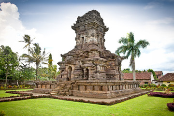 Candi Kidal Temple near by Malang, east Java