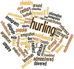 Word cloud for Hurling