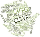 Word cloud for Laffer curve