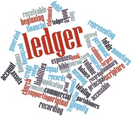 Word cloud for Ledger