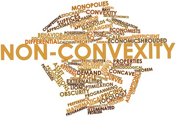 Word cloud for Non-convexity