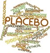 Постер, плакат: Word cloud for Placebo
