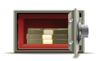 Safe deposit cash