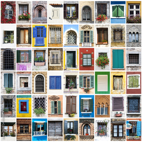 windows collage