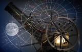 Fototapeta luneta - Astrologia - Urządzenie Optyczne
