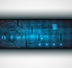 abstract futuristic grey line technology business banner backgro