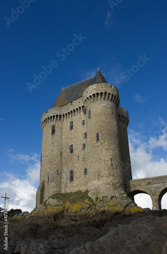 Solidor tower, la tour Solidor, Saint Malo, France
