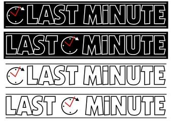 LAST MINUTE 1