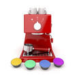 Coffee machine capsules