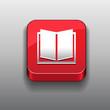Ebook icon button red