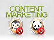 Content marketing seo algoritmi penguin panda