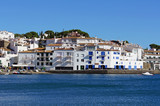 Cadaques village on the Mediterranean seaside
