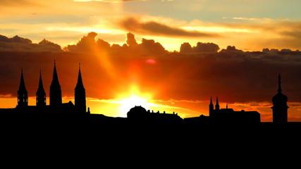 Germany Bamberg sunrise