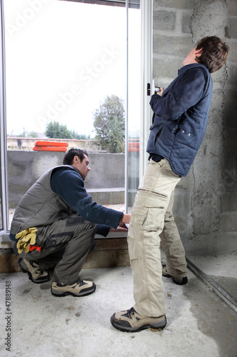 Window fitters