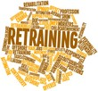 Word cloud for Retraining