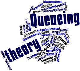 Word cloud for Queueing theory