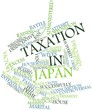 Word cloud for Taxation in Japan