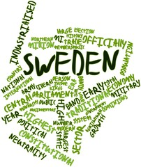 Word cloud for Sweden