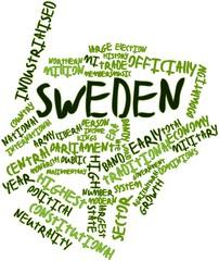 Word cloud for Sweden