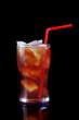 tropical citrus cold cocktail