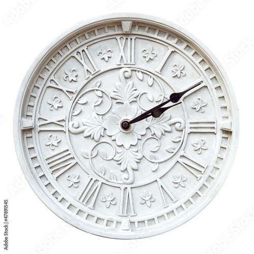 Isolated wall clock