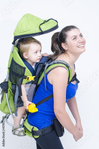 Baby in Backpack