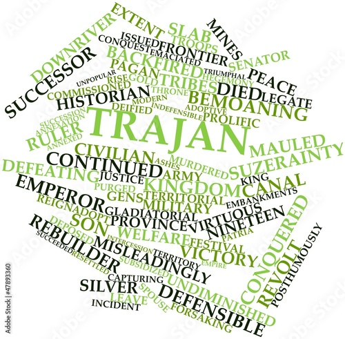 Word cloud for Trajan
