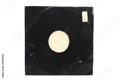 Leinwandbild Motiv Grunge vinyl album cover